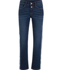 jeans elasticizzati morbidi straight (blu) - john baner jeanswear
