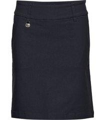 magic skort 52 cm kort kjol blå daily sports