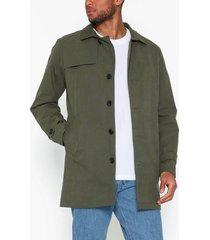 selected homme slhtimes trench coat b jackor grön
