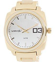reloj dorado virox