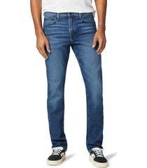 men's joe's the asher slim straight leg jeans, size 34 - blue