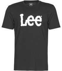 t-shirt korte mouw lee logo tee shirt