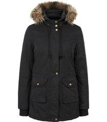 giacca prémaman regolabile con fodera peluche (nero) - bpc bonprix collection