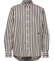 capri overhemd met lange mouwen multi/patroon totême