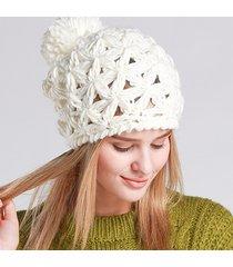 cappello lavorato a maglia con cappuccio lavorato a maglia berretto con cappuccio lavorato a mano