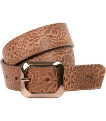 cinturón delia unifaz de cuero para mujer