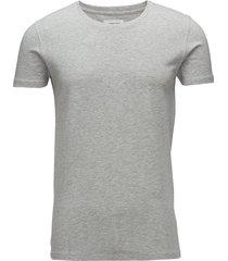 mensstretchcrewnecktees/s t-shirts short-sleeved grå lindbergh