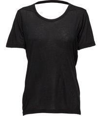fonda t-shirts & tops short-sleeved zwart whyred