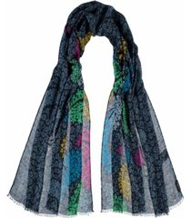 paisley floral women's scarf