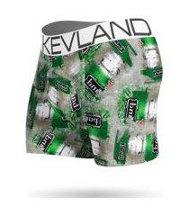 cueca boxer kevland beer on ice verde