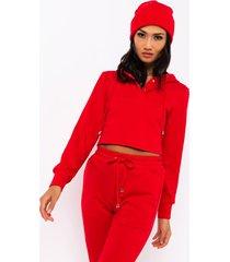 akira paxton cherry sweatshirt