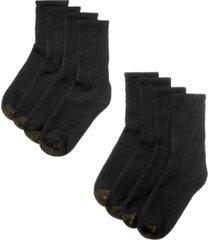 gold toe men's 8 pack short crew socks