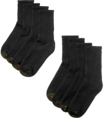gold toe men's 8 pack short crew socks
