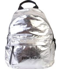 palm angels branded backpack