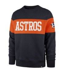 '47 brand houston astros interstate crew sweatshirt