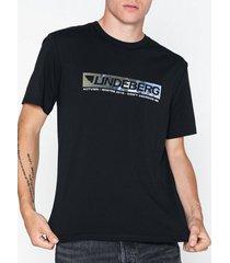 j lindeberg jordan-distinct cotton t-shirts & linnen black