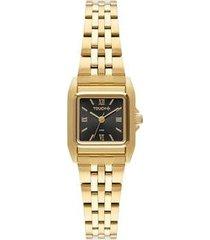 relógio touch unissex fino dourado twvj21af/4p twvj21af/4p
