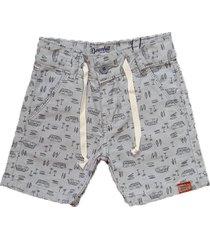 bermuda sarja shorts manabana menino cinza