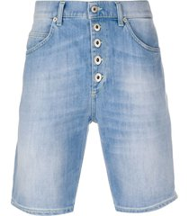 dondup skinny denim shorts - blue