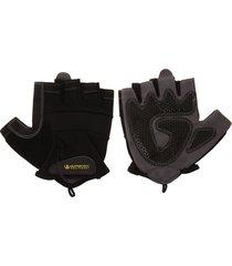 guantes para entrenamientos corto negro-gris  supremacy equipments