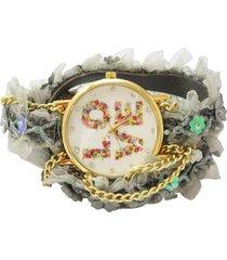 reloj verde sasmon re-21400