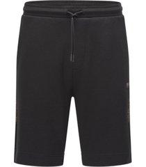 boss men's regular-fit logo shorts