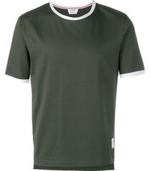 thom browne jersey t-shirt - green