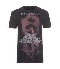 t-shirt masculina rg temporany - cinza