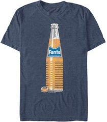 coca-cola men's classic fanta bottle short sleeve t-shirt