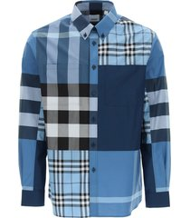 burberry tewkesbury check shirt