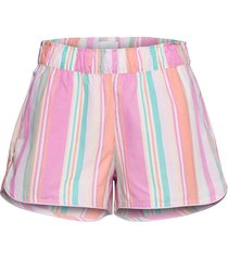 print shorts in poplin shorts rosa gap