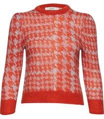 cerral pullover ms19 gebreide trui rood gestuz