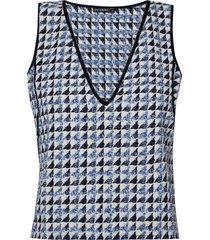 top lethicia (tweed azul dusk, 50)