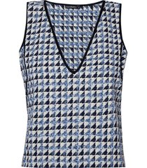 top lethicia (tweed azul dusk, 50)