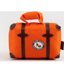 pack and snack suitcase plush toy - multi