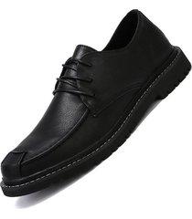 moda zapatos de vestir para hombre zapatos oxfords con cordones