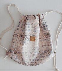 orientalny plecak - mini / orient