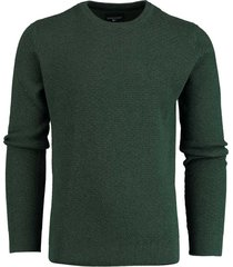 commander pullover groen ronde hals 214007530/500