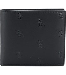 billionaire all over bb monogram wallet - black