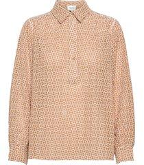 zelda blouse blouse lange mouwen rood second female
