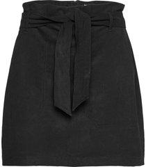 anf womens skirts kort kjol svart abercrombie & fitch