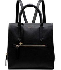 radley london arlington court large zip-top backpack