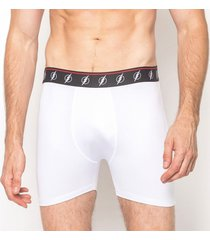 cueca boxer the flash black & white emporio alex malha branco