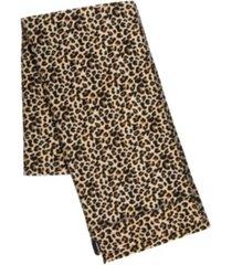 isotoner signature women's water repellant fleece scarf