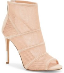 jessica simpson jassie peep toe booties women's shoes