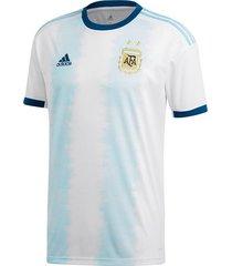 camiseta blanca adidas seleccion argentina oficial 2019 hombre