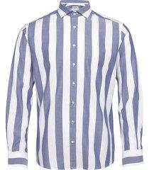 bs caleb skjorta casual blå bruun & stengade