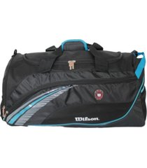 bolsa esportiva wtis12315c preto/azul - kanui
