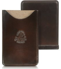 peroni designer small leather goods, genuine leather card case