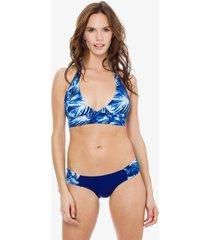 bikini azul mare moda  laguna